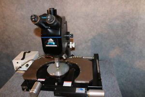 Cascade Rel 3200 Prober With Mitutoyo Microscope And Fiber Optic Illuminator