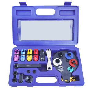 Master Disconnect Kit 15pc Fuel Transmission Oil Air Conditioning Remover Tool