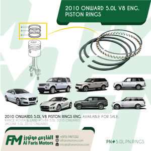 Range Rover Land Rover Jaguar 5 0l Piston Rings Set V8