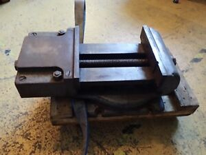 12 Shaper Planer Vise W Swivel Base Jaws Open 11 1 2 Used In Good Condition