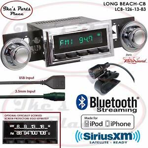 Retrosound Long Beach Cb Radio Bluetooth Ipod Usb 3 5mm Aux In 126 13 Starfire