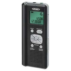 Digital Voice Recorder With Micro Sd Card Slot And 4gb Built In Memory