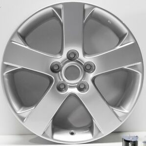 New Set Of 4 17 Replacement Wheels Fit 2006 2007 Mazda 5 64881 Silver