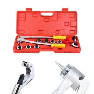 7 Lever Plumbing Pipe Expander Tool Hvac Hydraulic Copper Heads Tube Swaging Kit