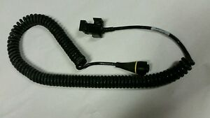 Trimble Gps Geo xt Camcorder Coiled Power Cable Pn 39181 Rev 3 Battery Adapter