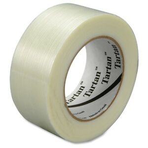 Scotch 8934 Filament Tape 1 88 Width X 60 Yd Length 3 Core Synthetic