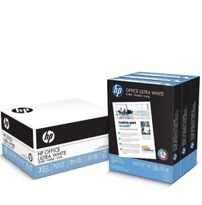Hp Paper Everyday Copy Print Poly Wrap 20lb 8 5 X 11 Letter 92bright 3000 Sheets
