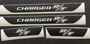 R T Dodge Charger Vinyl Door Sill Decals 2006 All Years Charger Hemi Rt