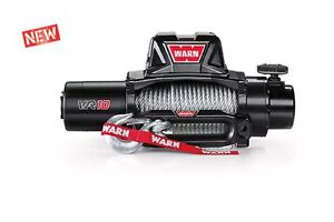 Warn 96810 Vr10 10000lb Winch 12v Hawse Fairlead 80 3 8 Wire Cable Rope