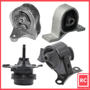 2001 2005 Honda Civic 1 7l Motor Trans Mount Set 4pcs For Auto Transmission