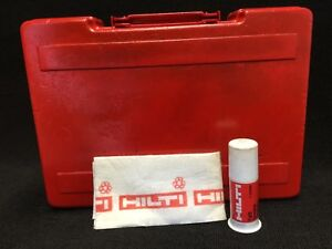 Hilti Te 22 Original Tool Case only Case Preowned Free Grease Fast Shipping