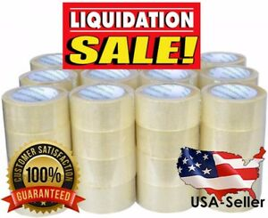 12 Rolls Clear Packing Box Sealing Tape 3 Inch X 110 Yards 330 Ft Sale
