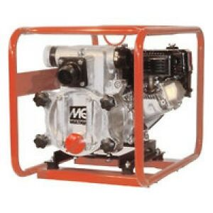 Multiquip s Qp2th 2 Trash Pump 211 Gpm Honda Gx160 98 Head