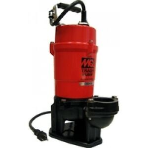 Multiquip s St2040t 40 Head 115v 2 Discharge 79 Gpm Submersible Trash Pump