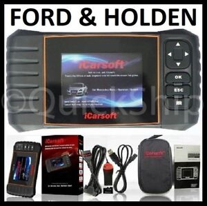 Ford Holden Diagnotic Scanner Tool Engine Airbag Abs Code Reader Icarsoft Fdii
