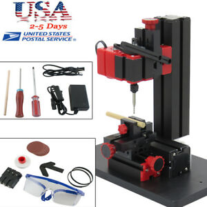 6in1 Mini Wood Metal Motorized Lathe Machine Woodworking Hobby Diy Tool 100 240v