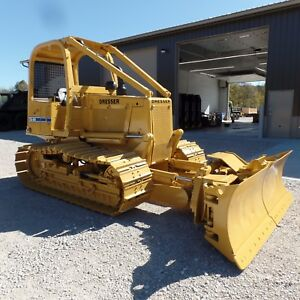 1999 Dresser Td8h Dozer Good Shape Low Hours One Owner Komatsu 8 Way Blade