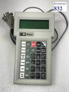 Brooks 001 1984 Hand Held Robot Controller used Working
