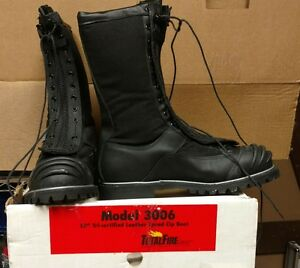Total Fire Group Firefighter Boots 3006 10 5d Cairns Warrington Fdny Chicago