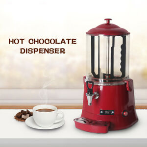 10l Electric Hot Chocolate Machine Chocolate Dispenser Led Screen 110v 220v