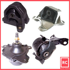 02 06 Acura Rsx Type S Honda Civic 2 0 Motor Trans Mount 4pcs For Manual