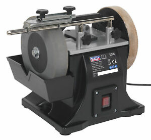 Sms2101 Sealey Sharpener 200mm With Honing Wheel miscellaneous machine Shop