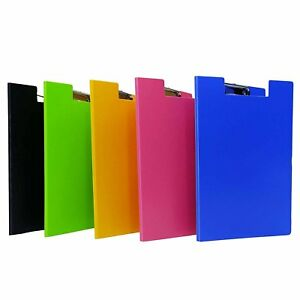 Assorted Clip Board File A4 Size Paper Document Folder Organizer Office Supplies