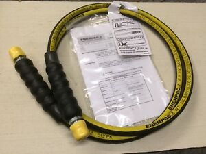 H 9206 Enerpac 6 Hydraulic Hose 3 8 Npt Ends 1pc New