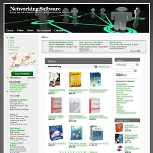 Computer Networking Software Online Business Website For Sale Free Domain Name