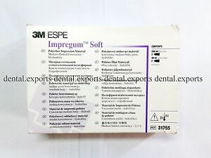 Pack Of 2x 3m Espe Impregum Soft Polyether Impression Material Dental Product