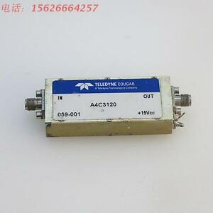 Teledyne Cougar A4c3120 Sma 10 Mhz To 3000 Mhz Amplifier 30 Db Gain c1vd