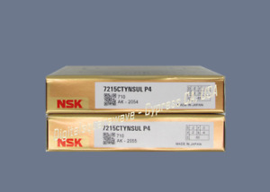 Nsk 7215ctynsulp4 Abec 7 Super Precision Spindle Bearings matched Set Of Two
