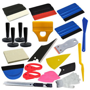 Pro Car Wrapping Tools Kit Car Window Tint Squeegee Vinyl Film Installation New