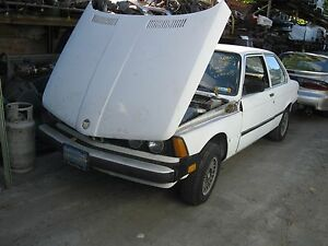 Bmw 320i 1 8l Complete Engine And Manual Transmission Lift Out 1981
