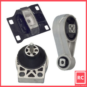 2000 2003 Ford Focus 2 0 Dohc Engine Motor Trans Mount Set 3pcs