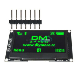 2 42 Inch Green Oled Lcd Display Ssd1309 128x64 Spi Serial Port For Arduino