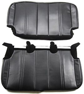 Jeep 2003 2006 Tj Lj Rear Bench Seat Upholstery Kit Fabric Face