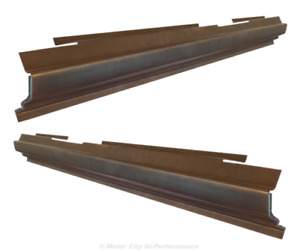 1984 2001 Jeep Cherokee Xj Rocker Panels Pair Die Stamped