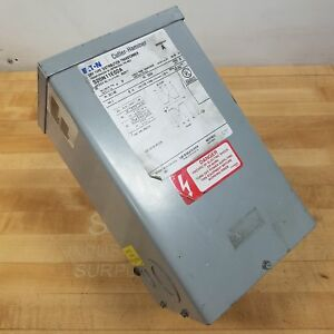 Eaton Cutler hammer S20n11e02a Dry Type Distribution Transformer 2kva Used