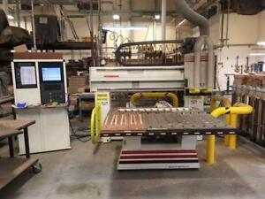 Thermwood Model 40 3 Axis Twin Spindle Cnc Router Gen2 Windows