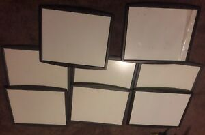 8 Fellowes Fel 75905 Partition Additions Dry erase Board 14 X 11 Lot Set Used
