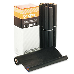 Brother Pc304rf Thermal Transfer Refill Rolls 4 bx