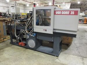 1997 Van Dorn Ergotech 35 Ton Et Pro Injection Press With Nc 4 Controller