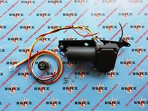 1955 1956 Buick Special Century Electric Wiper Motor Kit 12v Free Shipping