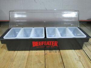 Beefeater London Dry Gin Condiment Holder W 6 Pint Trays By Co rect