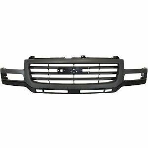 For 2003 2007 Gmc Sierra Grille Assembly 2006 2005 2004