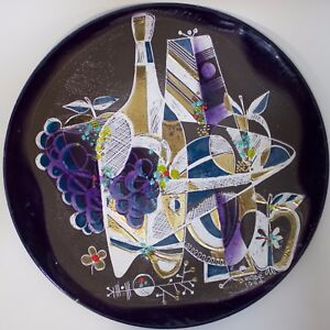 Enamel Plaque Made In 1964 By Thelma Frazier Winter In United States