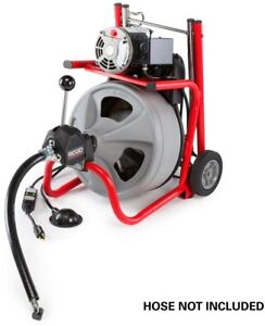 Drain Cleaning Machine Auger Sewer Cable Drain Clog Cleaner 75 Plumbing Snake