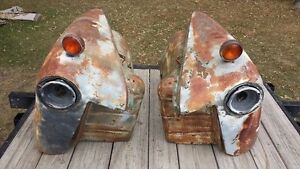 1947 1953 Chevy Chevrolet Pickup Front Fenders Shipping Incuded