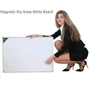 Office 23 x35 Magnetic Writing Whiteboard Side Dry Eraser Board Free Shipping
